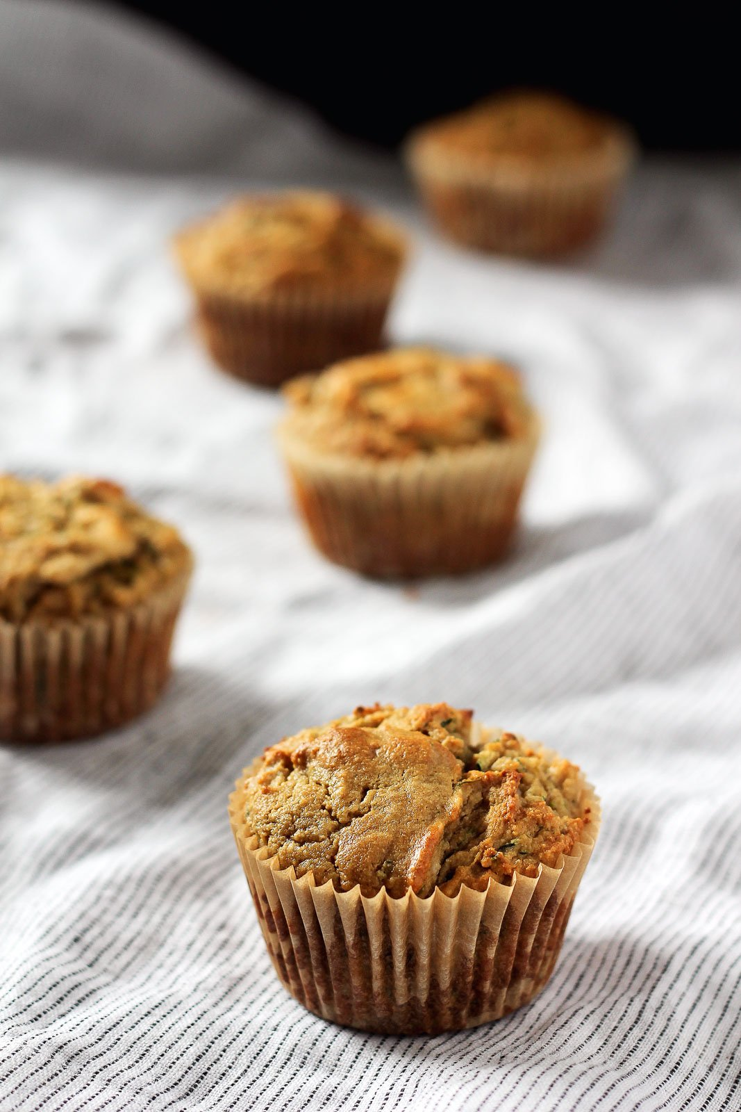 Scrumptious Paleo Banana Zucchini Muffins Made With Coconut Flour And Cashew Butter These Flavorful Muffins