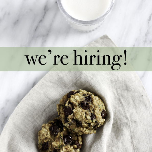 hiring graphic with cookies