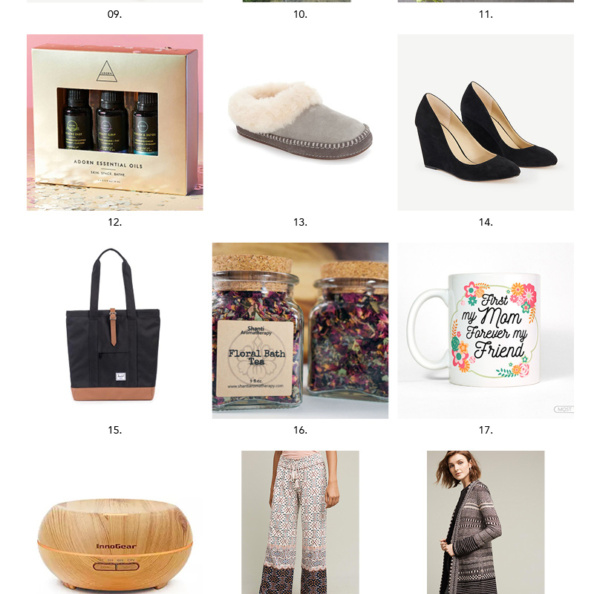 AK gift guide for the lady graphic