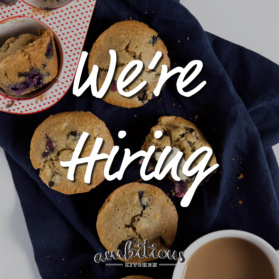 Ambitious Kitchen is hiring a brand and social media manager. Know of anyone who is passionate about nutrition, food and social media?
