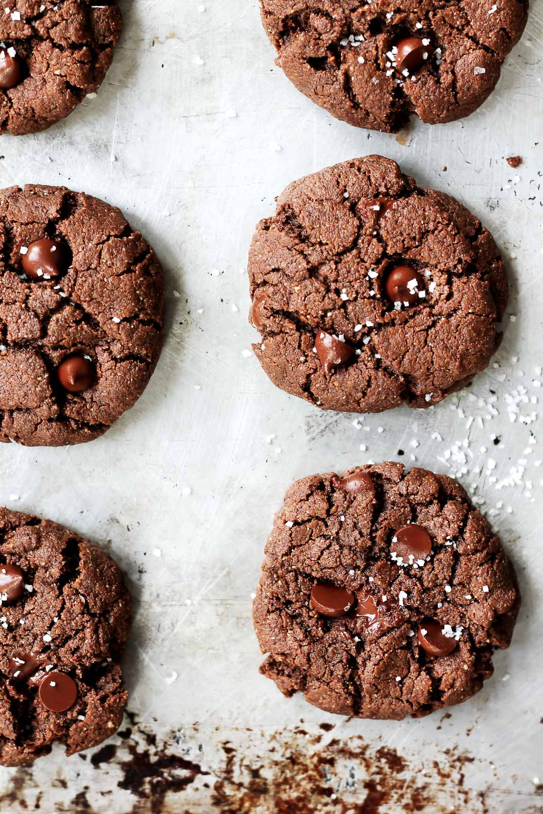 Flourless Paleo Chocolate Almond Butter Cookies | Ambitious Kitchen