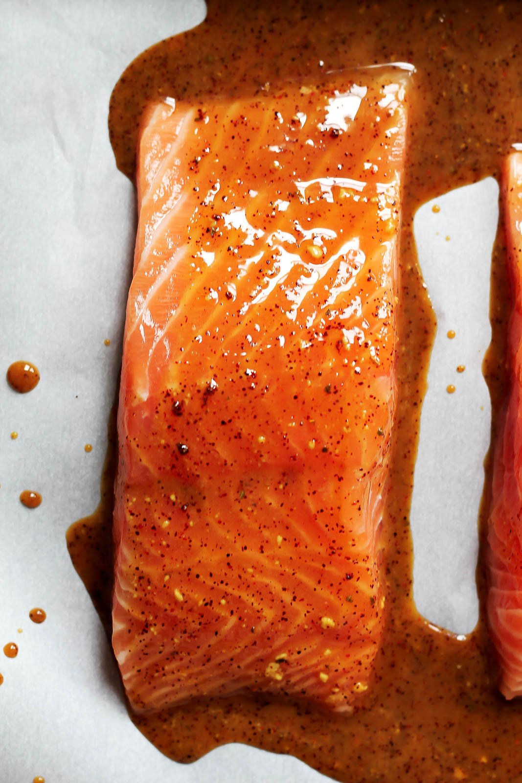 Spicy Glazed Maple Salmon For Two Makes The Perfect Weeknight Dinner All  You Need Is This Recipe