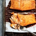 Spicy Maple Glazed Salmon for Two!