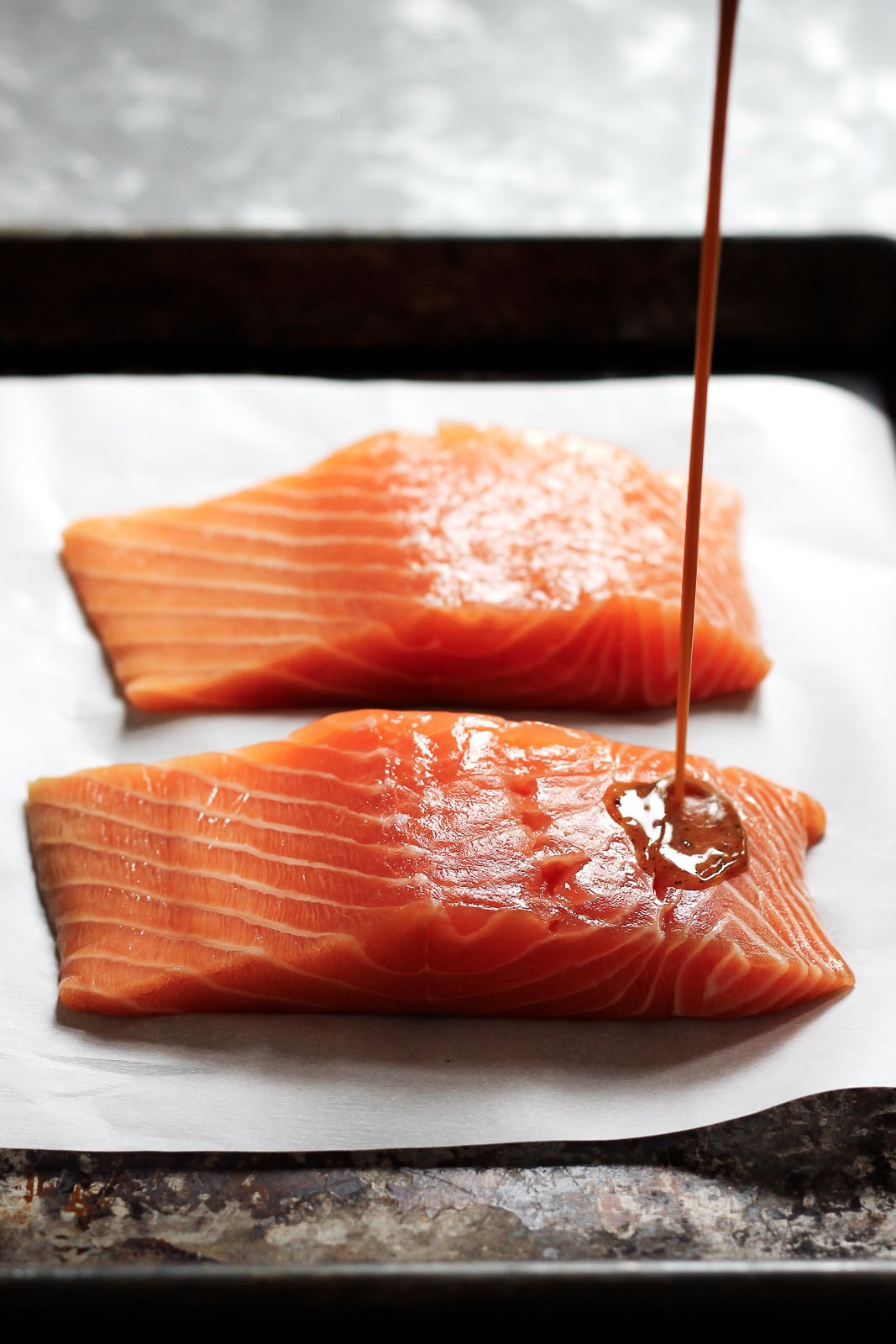 Spicy Glazed Maple Salmon For Two Makes The Perfect Weeknight Dinner All  You Need Is