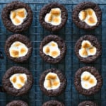 Grain Free Hot Cocoa Brownie Bites