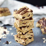 Coconut & Chocolate Peanut Butter Protein Bars