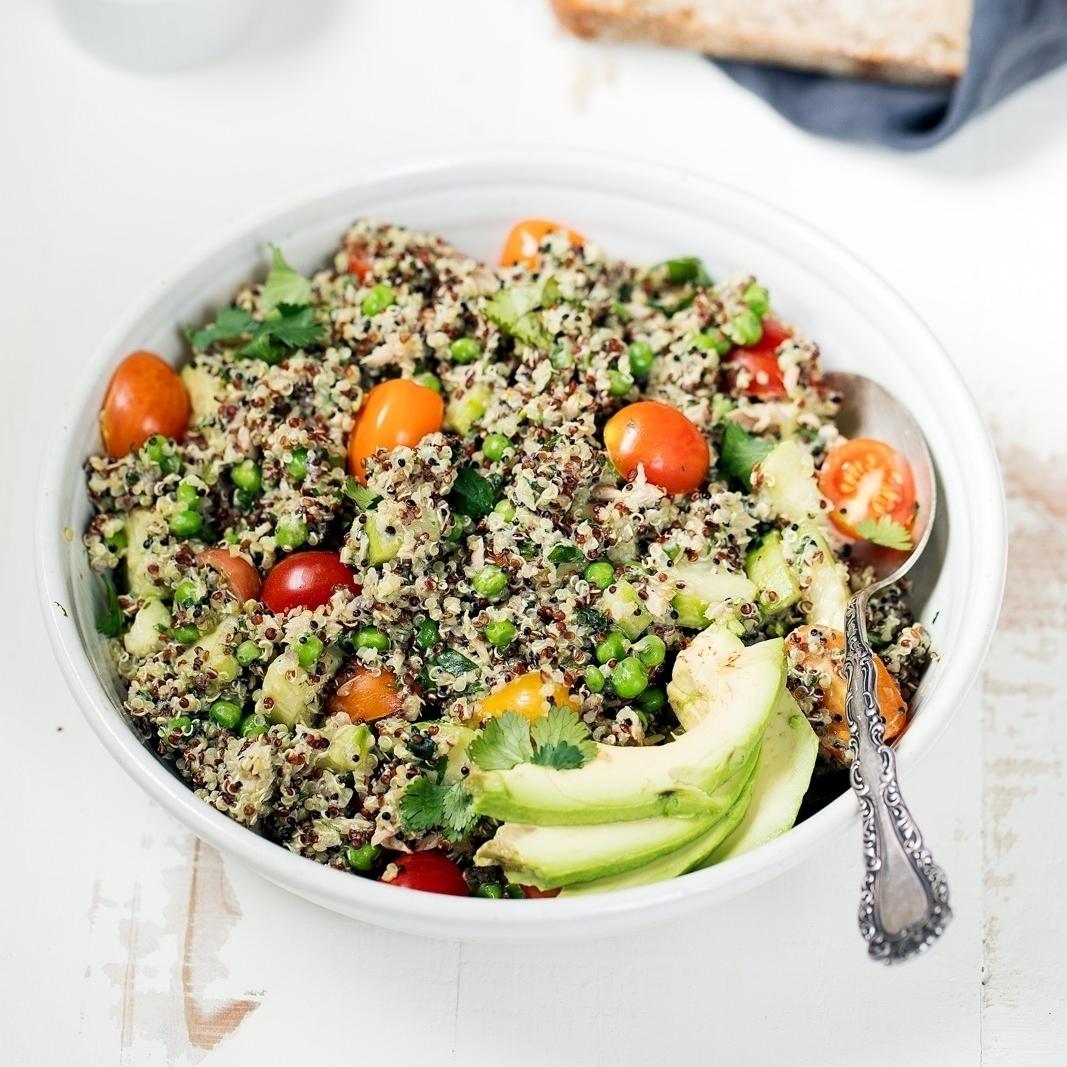 Tuna Quinoa Salad Recipe