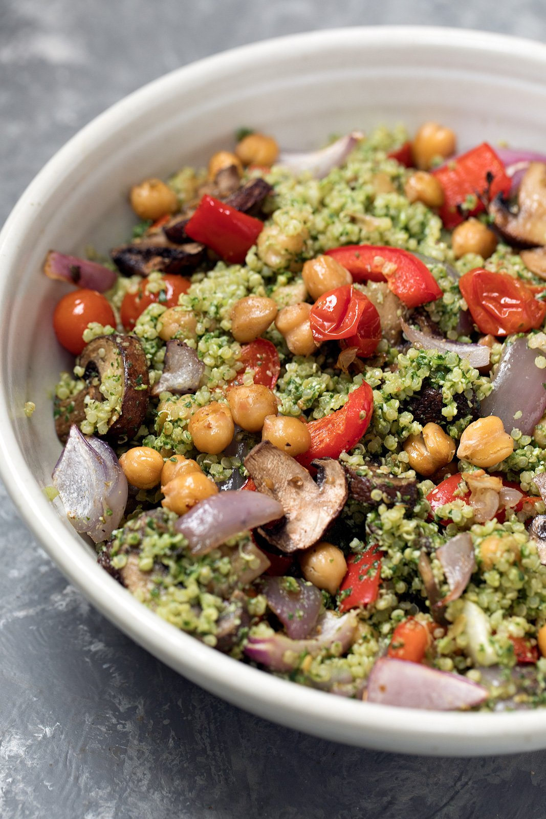 Roasted Veggie, Chickp... Quinoa Chickpea Salad Recipes