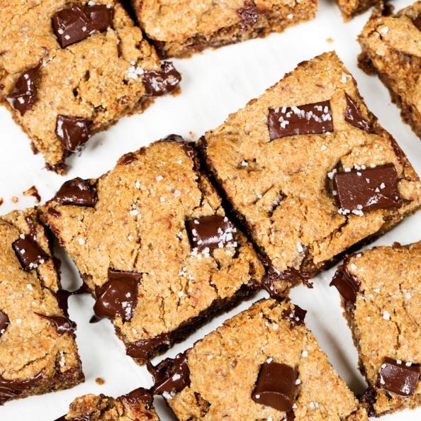 cake in a crate grain free chocolate chunk cookies as bars