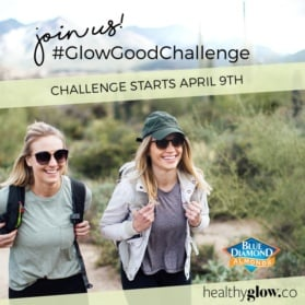 Join the #GlowGoodChallenge: The challenge involves 4 weeks of daily prompts that are meant to motivate you to make meaningful small changes with everyday activities inspired by the calendar below. Our goal is to help you feel good from the inside out, so we'll be tackling topics related to mind, body and relationships and building new habits along the way. It's simple: by posting every day, you'll be reminded to take time for yourself, improve your relationship with your mind and body and also to appreciate others/what's around you!