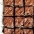 tahini brownies drizzled with chocolate