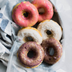 Baked Coconut Donuts with Berry Glaze (The All American Donuts!)