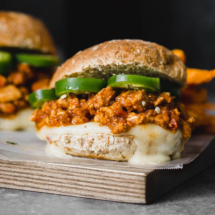 30 Minute Healthier Turkey Sloppy Joes With Homemade Sauce Ambitious Kitchen
