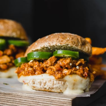 Healthy turkey sloppy joes