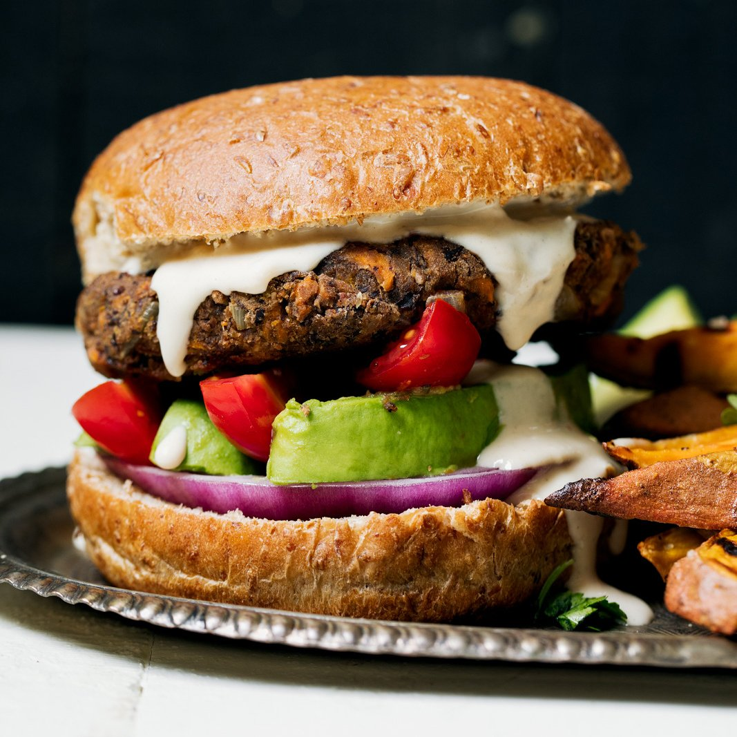 The Ultimate Vegan Black Bean Burgers Ambitious Kitchen
