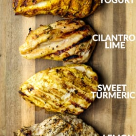 four easy chicken marinades