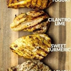 four easy chicken marinades