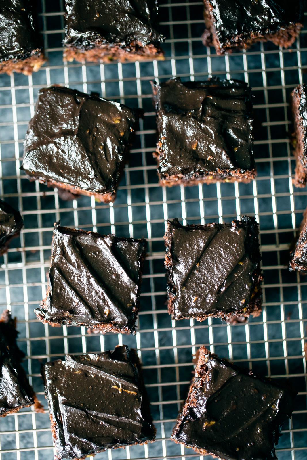 Healthy Chocolate Zucchini Cake with Avocado Chocolate Frosting ...