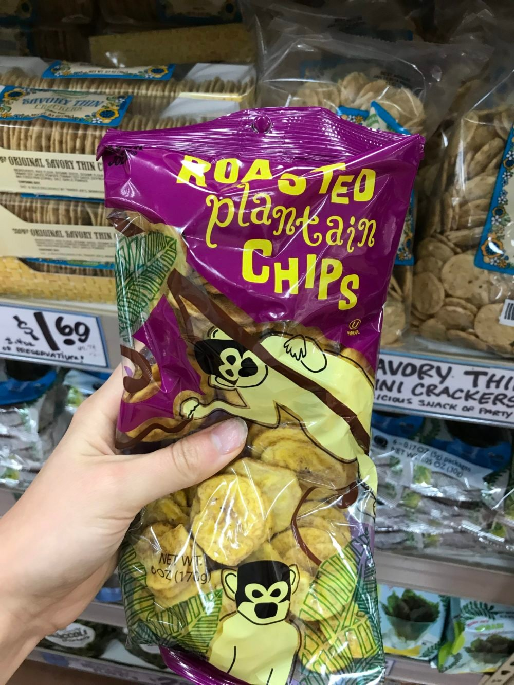 bag of plantain chips