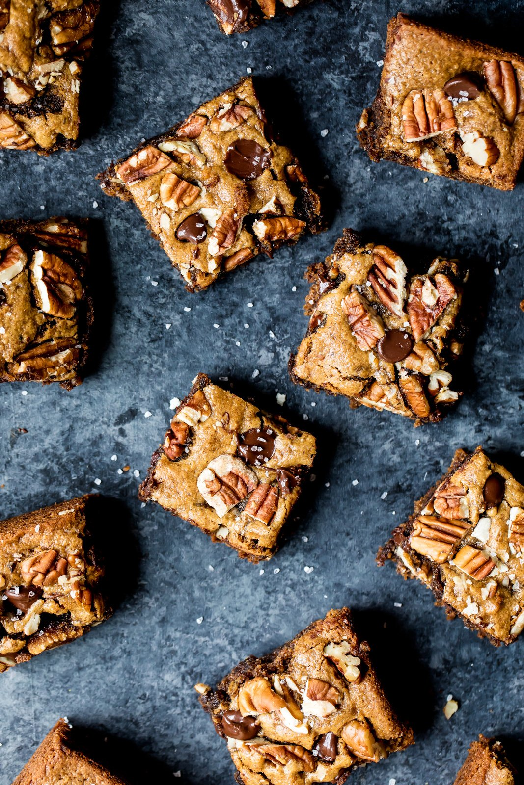 grain free pecan blondies