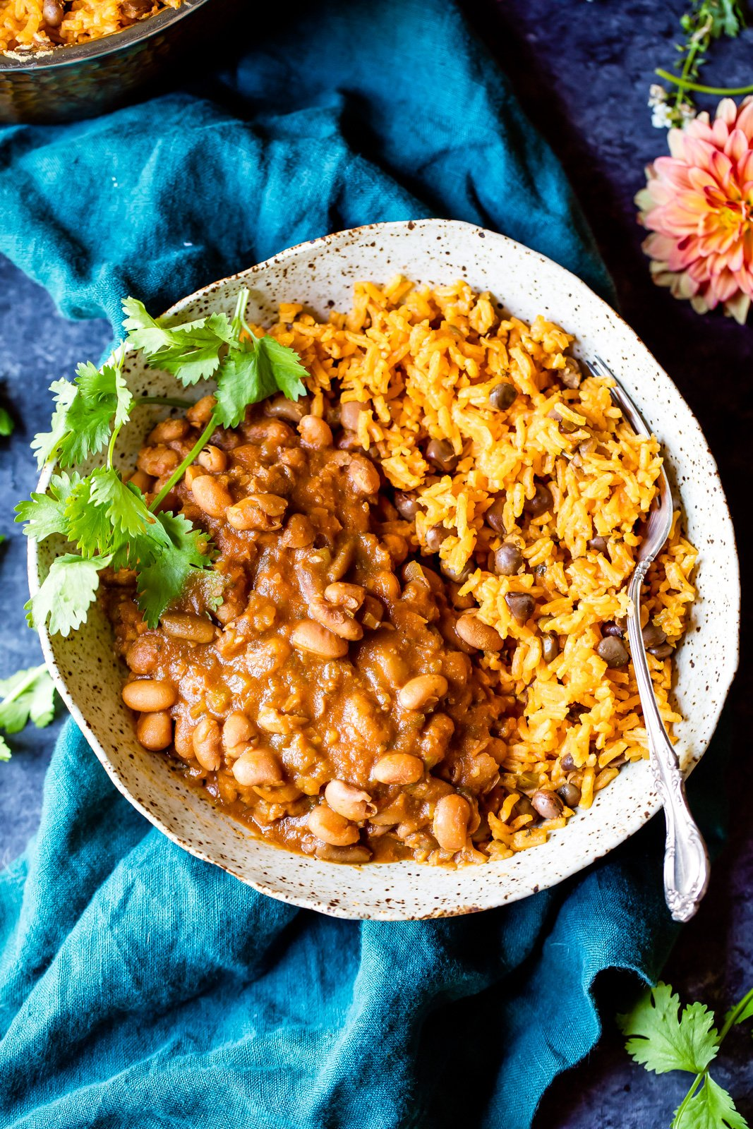 Video moms authentic puerto rican rice and beans ambitious kitchen moms authentic puerto rican rice and beans with savory homemade sofrito and sazon you forumfinder