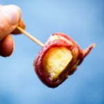 bacon wrapped plantains