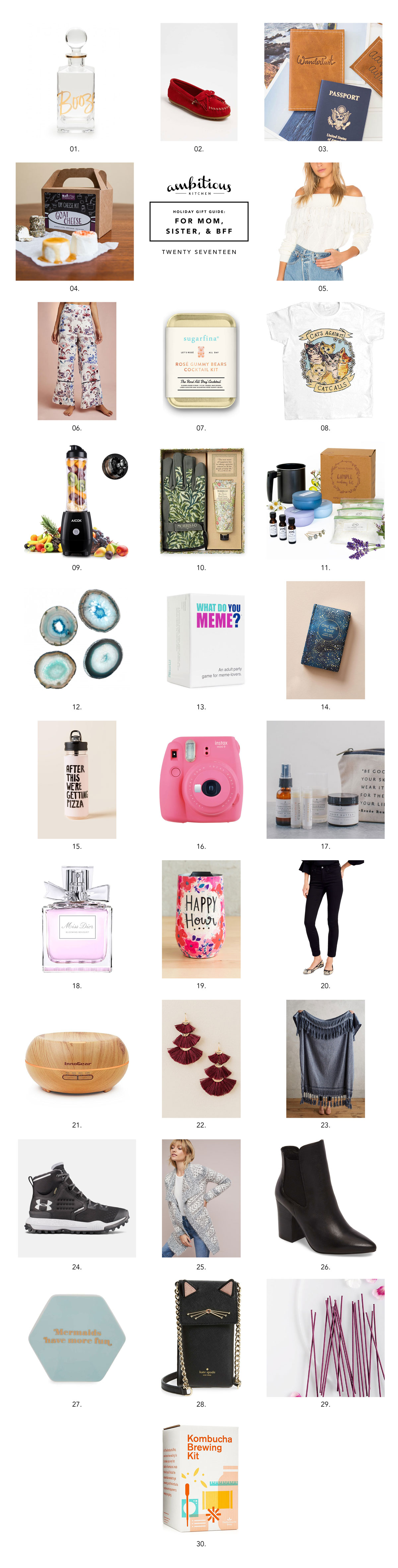 ak gift guide 2017 unique gifts for your mom sister and best