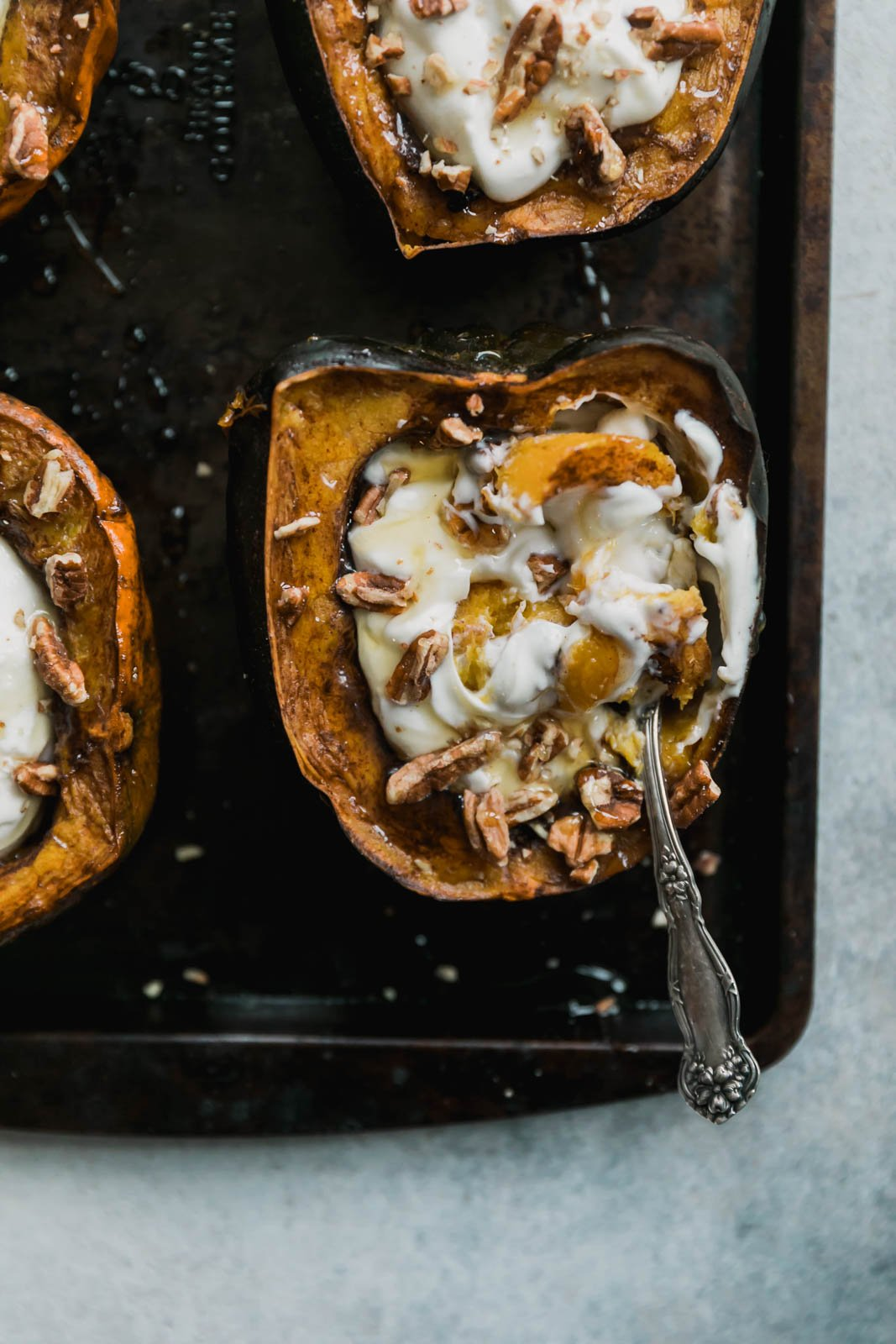14. Protein-Packed Breakfast Acorn Squash