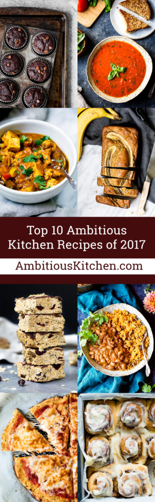 Top 10 Ambitious Kitchen Recipes From 2017 Ambitious Kitchen