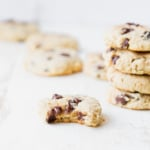 Almond Flour Chocolate Chip Cookies + why you need collagen in your life