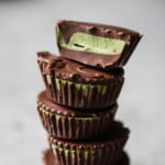 Collagen Matcha Dark Chocolate Coconut Butter Cups + video