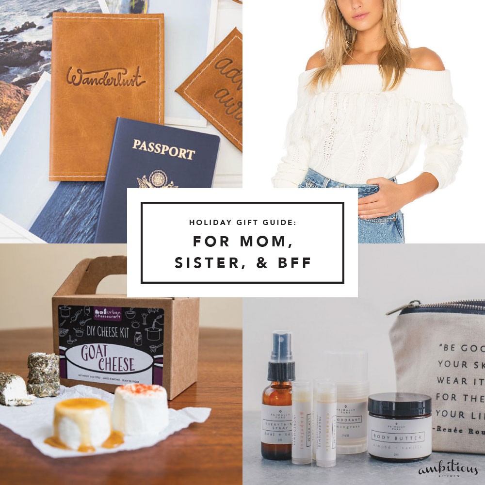Ak Gift Guide 2017 Unique Gifts For Your Mom Sister And