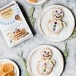 Grain Free Snowman Pancakes