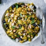 One Pot Moroccan Chickpea Quinoa Salad