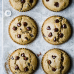 Healthy Gluten Free Chocolate Chip Muffins