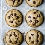 Healthy Gluten Free Chocolate Chip Muffins
