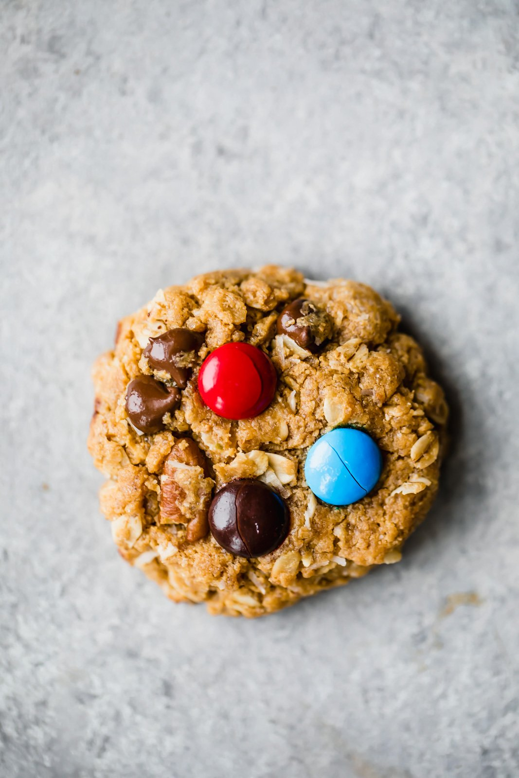 healthy monster cookie