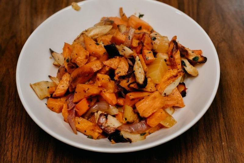 roasted vegetable in a bowl