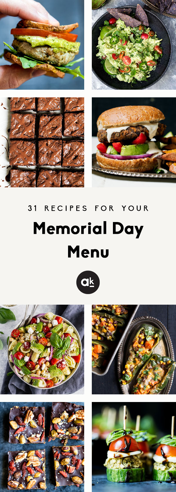 31 delicious Memorial Day recipes that are perfect for your holiday weekend menu! Skip the store-bought platters and bring these fun appetizers, flavorful grilling recipes, bright salads, and homemade sweets to your parties and potlucks. These recipes are guaranteed to impress guests!
