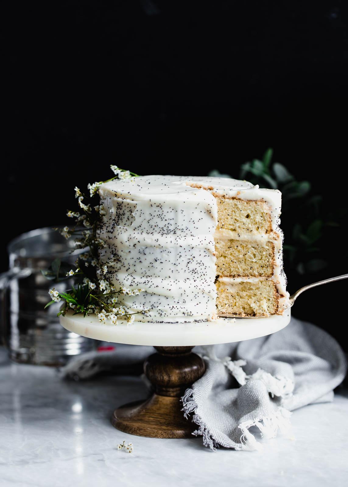 Lemon Poppyseed Cake | Broma Bakery