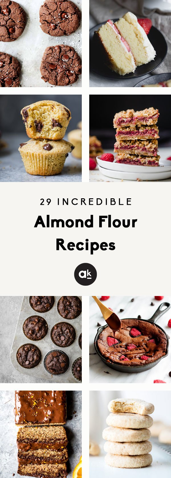 Incredible almond flour recipes that make the perfect snack or treat! These 29 recipes have tons of paleo and gluten free options that everyone will love.