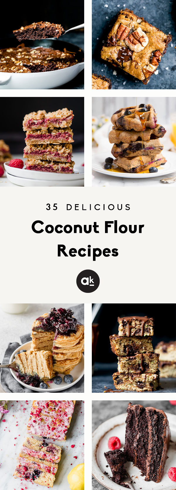 Delicious coconut flour recipes that make the best, healthy treats. Many of these coconut flour recipes are gluten free and paleo, so they're perfect for sharing with loved ones who have dietary restrictions. From cookies and bars to muffins and even healthy burgers, everyone loves these recipes!