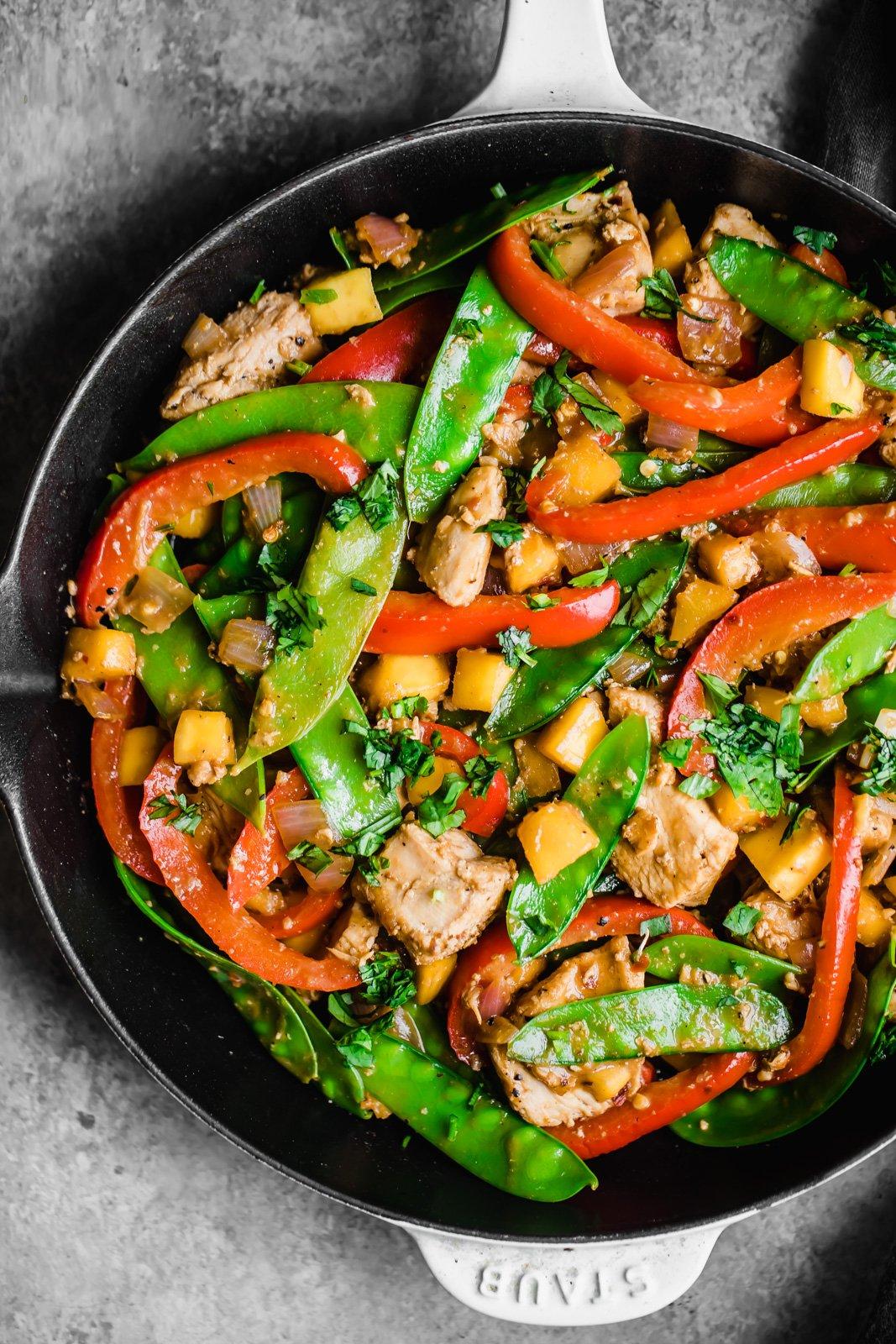 Protein-packed chicken stir-fry