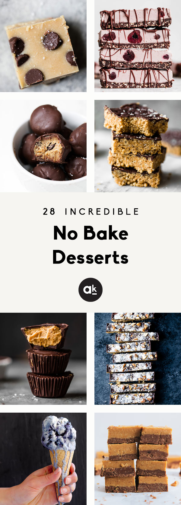 Incredible no bake desserts that are perfect for making all summer! From pies and tarts to decadent bars, these no bake desserts will be your new favorites.