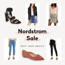 nordstrom sale collage