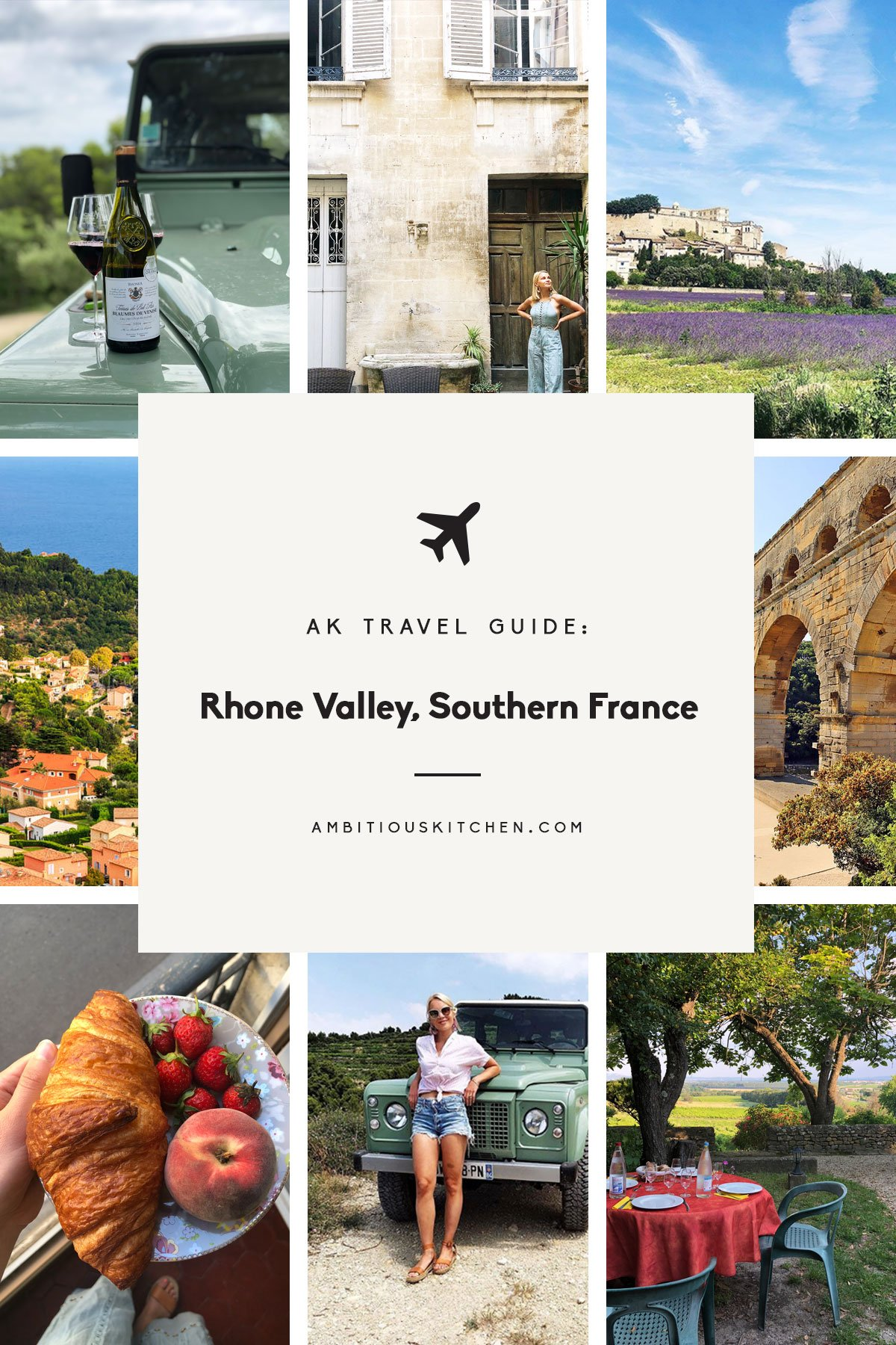 AK travel guide: rhone valley, southern france