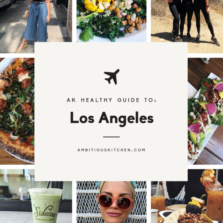 Ambitious Kitchen's healthy guide to Los Angeles, California -- everything from hiking to healthy, delicious eats. You'll love all of these fun picks!