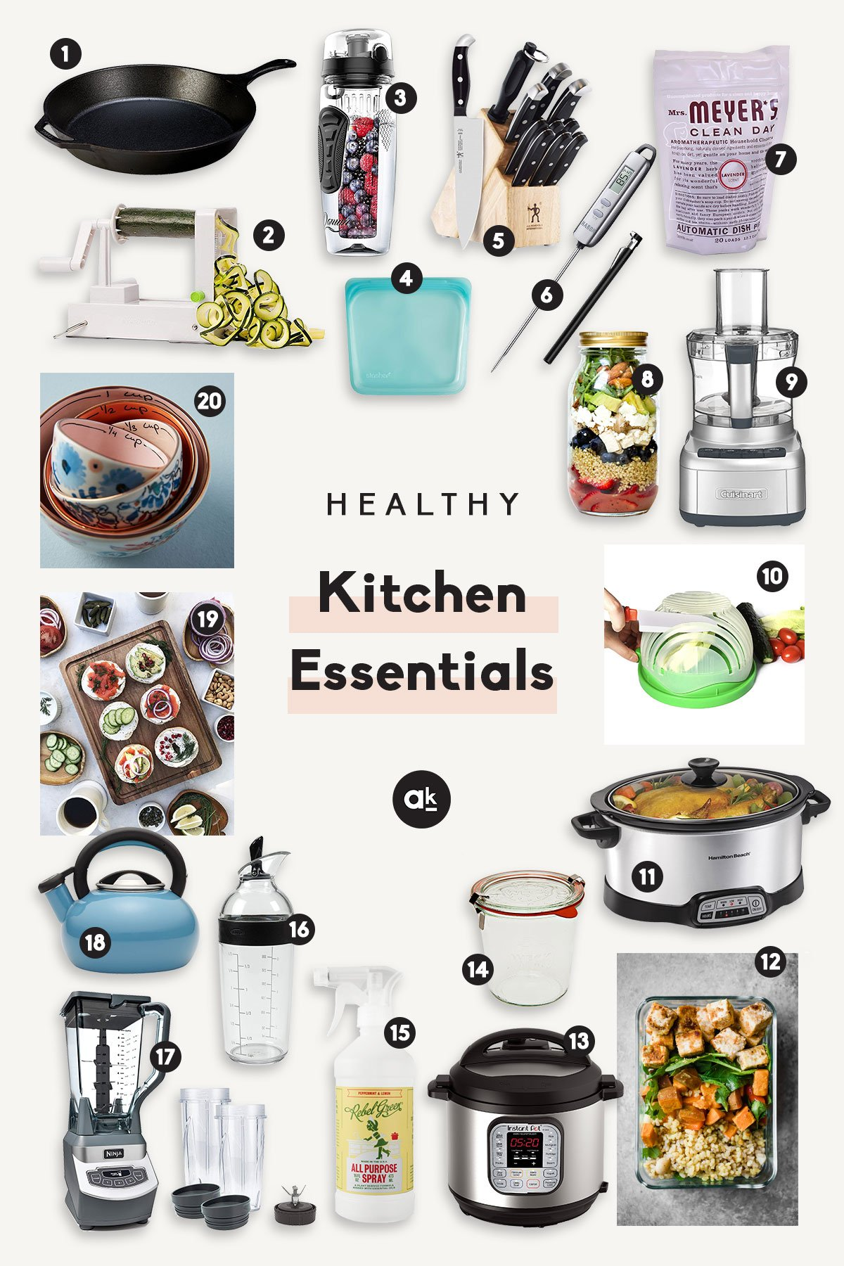 A Well Stocked Kitchen Is Key For Creating Sustainable Healthy Habits These 20
