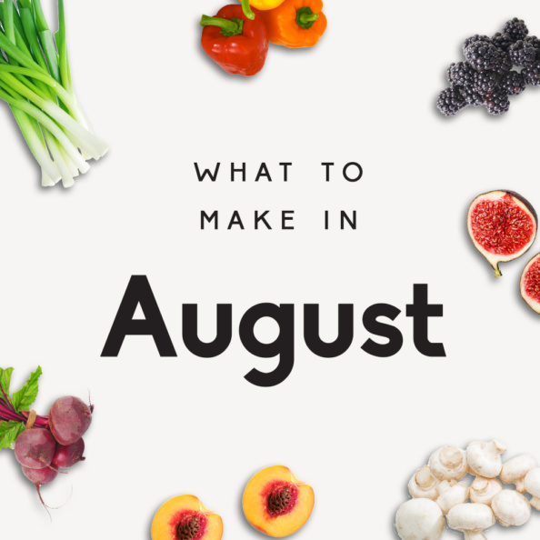 what to make in august graphic