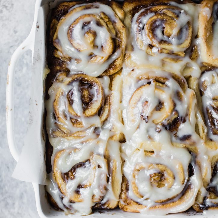 Vegan Banana Bread Cinnamon Rolls Ambitious Kitchen